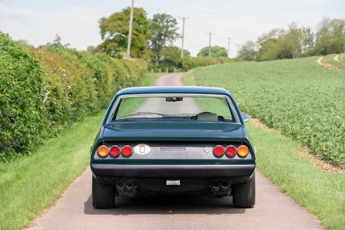 1975 Ferrari 365 GT4 2+2 RHD Verde Seabird (Green) SOLD (picture 3 of 6)