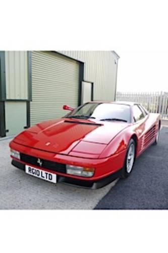 1986 STUNNING RHD UK FERRARI TESTAROSSA (MONOSPECCHIO) For Sale (picture 1 of 6)
