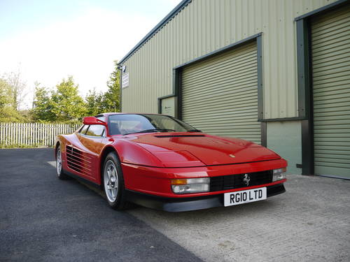 1986 STUNNING RHD UK FERRARI TESTAROSSA (MONOSPECCHIO) For Sale (picture 5 of 6)