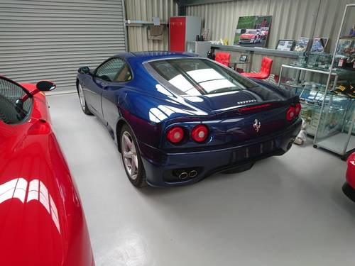 2001 Ferrari 360 Modena Manual Tdf Blue With Tan Sold Car And Classic Car And Classic