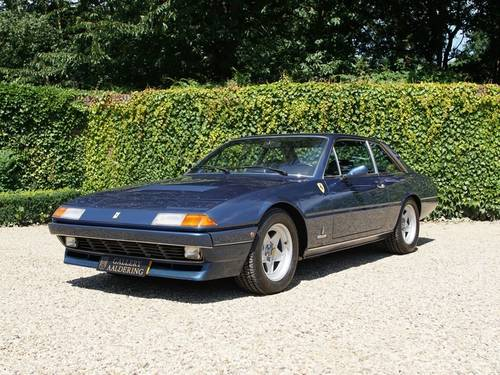 1983 Ferrari 400i only 22.000 miles from new! For Sale (picture 1 of 6)