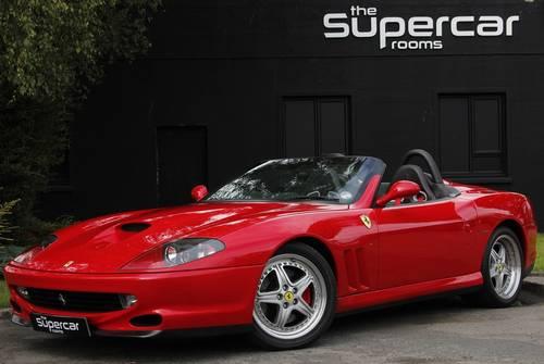 2001 Ferrari 550 Barchetta - 11K Miles - Rosso Corsa - UK RHD  For Sale (picture 1 of 6)