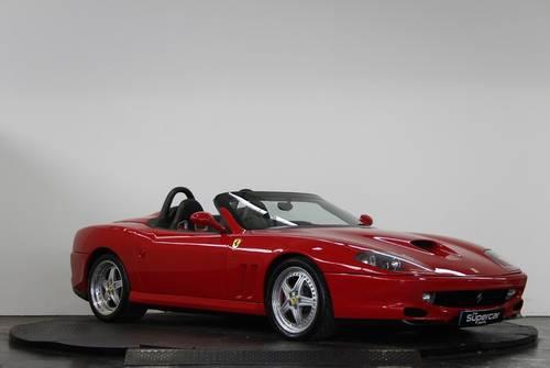2001 Ferrari 550 Barchetta - 11K Miles - Rosso Corsa - UK RHD  For Sale (picture 2 of 6)