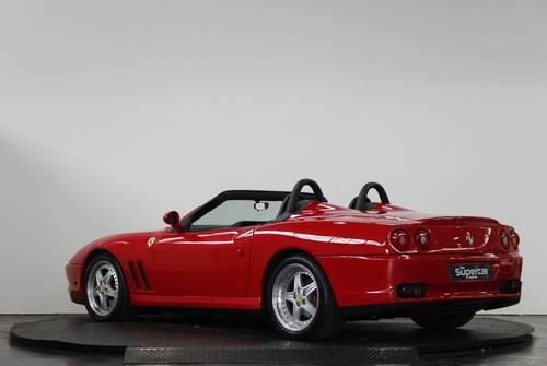 2001 Ferrari 550 Barchetta - 11K Miles - Rosso Corsa - UK RHD  For Sale (picture 4 of 6)