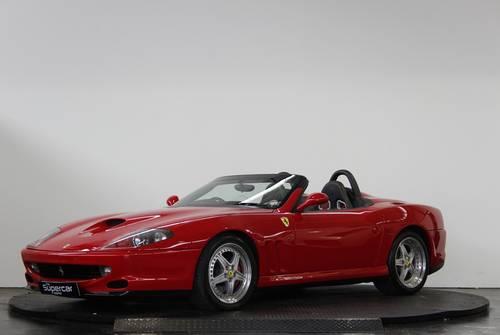 2001 Ferrari 550 Barchetta - 11K Miles - Rosso Corsa - UK RHD  For Sale (picture 5 of 6)