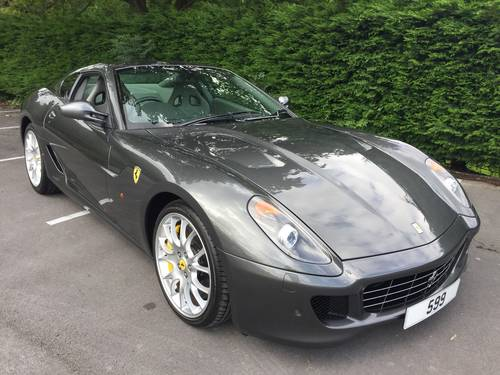 2008 FERRARI 599 GTB Fiorano F1. SOLD (picture 2 of 6)