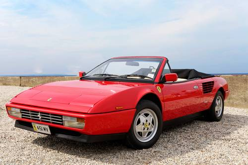 1988 Ferrari Mondial 3.2 Quattrovalvole Convertible (RHD) SOLD (picture 1 of 6)