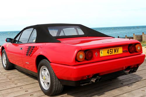 1988 Ferrari Mondial 3.2 Quattrovalvole Convertible (RHD) SOLD (picture 2 of 6)
