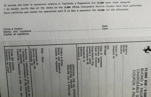 1980 ORIGINAL  WARRANTY CARD AND OWNER'S SERVICE BOOK For Sale (picture 5 of 6)