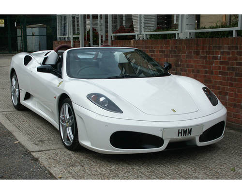 2009 FERRARI F430 SPIDER F1 with HIGH SPEC For Sale (picture 1 of 6)