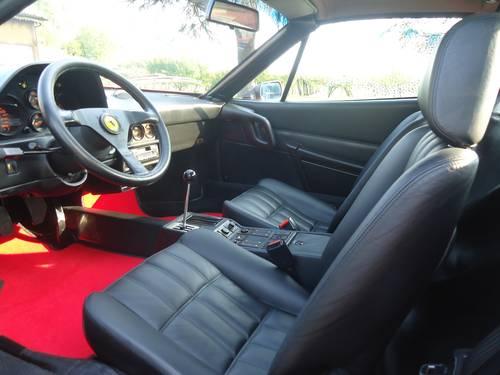 1987 Ferrari 328 GTS certificated