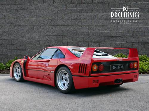 1991 Ferrari F40 (LHD) SOLD (picture 2 of 6)
