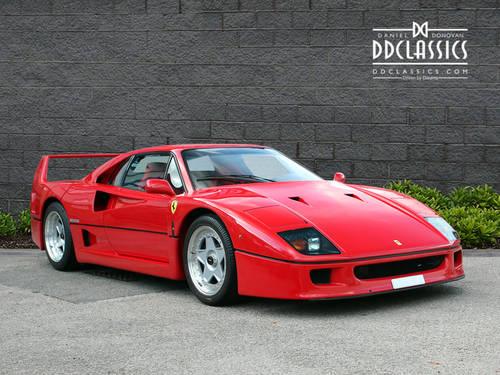 1991 Ferrari F40 (LHD) SOLD (picture 3 of 6)