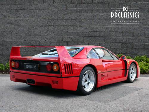 1991 Ferrari F40 (LHD) SOLD (picture 4 of 6)