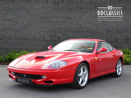 1997 Ferrari 550 Maranello (LHD) SOLD (picture 1 of 6)