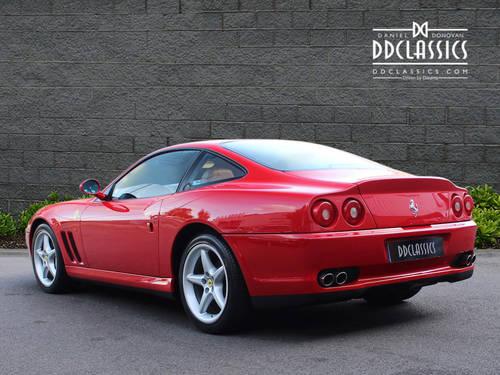 1997 Ferrari 550 Maranello (LHD) SOLD (picture 2 of 6)