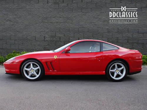 1997 Ferrari 550 Maranello (LHD) SOLD (picture 3 of 6)