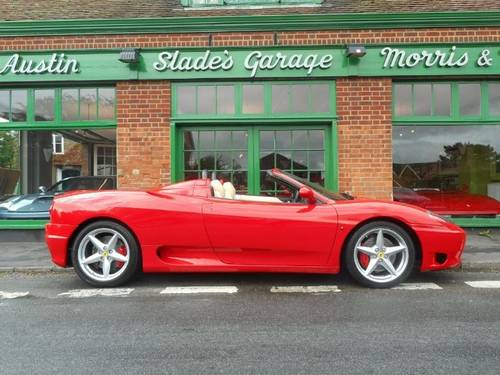 2001 Ferrari 360 Spider Manual  For Sale (picture 1 of 4)