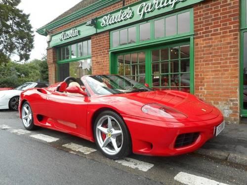 2001 Ferrari 360 Spider Manual  For Sale (picture 2 of 4)
