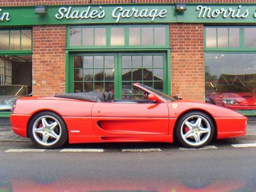 1998 Ferrari 355 Spider Manual  For Sale (picture 1 of 4)