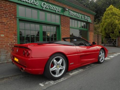 1998 Ferrari 355 Spider Manual  For Sale (picture 3 of 4)