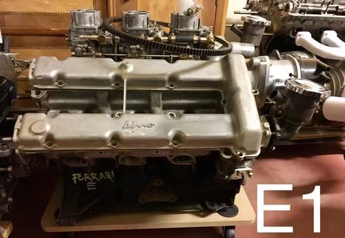 1972 ENGINE FERRARI 246 GT series E  For Sale (picture 1 of 3)