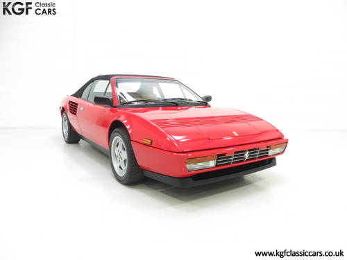 1987 Ferrari Mondial 3.2 Cabriolet with an Incredible 2,868 Miles SOLD (picture 1 of 6)