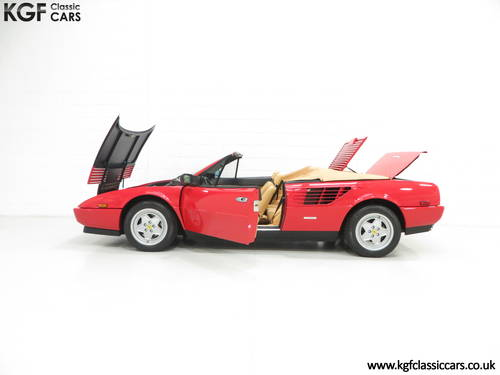 1987 Ferrari Mondial 3.2 Cabriolet with an Incredible 2,868 Miles SOLD (picture 3 of 6)