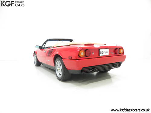 1987 Ferrari Mondial 3.2 Cabriolet with an Incredible 2,868 Miles SOLD (picture 4 of 6)