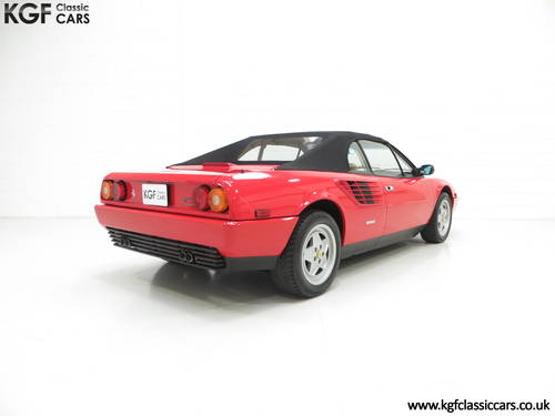 1987 Ferrari Mondial 3.2 Cabriolet with an Incredible 2,868 Miles SOLD (picture 5 of 6)