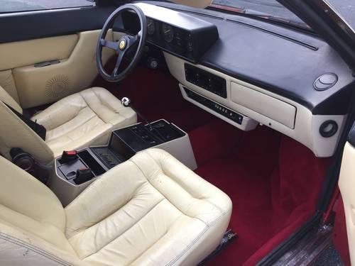 Ferrari Mondial 8 3.0 1982 Left Hand Drive For Sale (picture 5 of 6)
