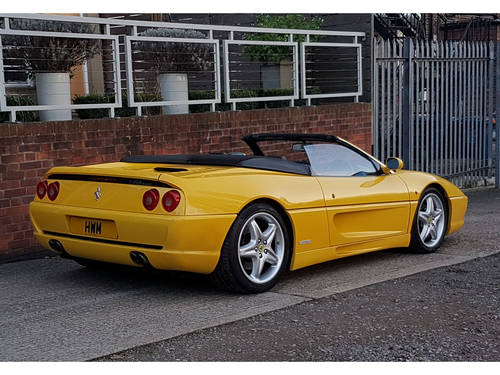 1996 FERRARI F355 SPIDER MANUAL GIALLO FLY  For Sale (picture 3 of 6)
