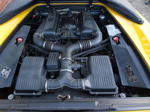 1996 FERRARI F355 SPIDER MANUAL GIALLO FLY  For Sale (picture 5 of 6)