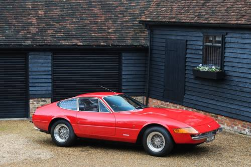1973 Ferrari 365 Daytona 365 GTB/4 RHD Classiche Certified For Sale (picture 1 of 6)