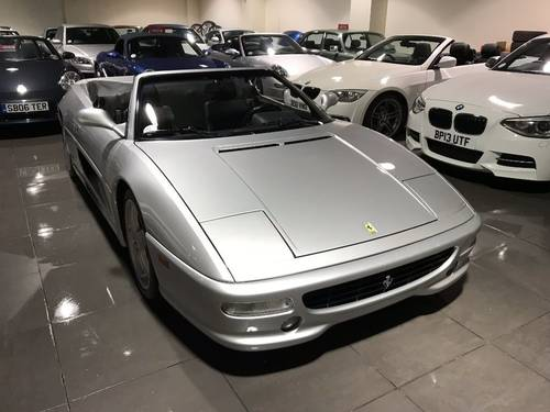 1998 FERRARI F355 SPIDER F1 ONLY 13,250 MILES! For Sale (picture 2 of 6)