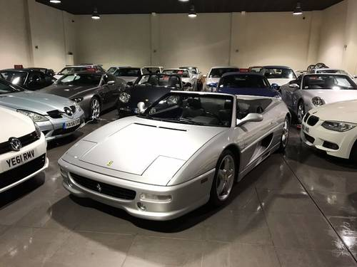 1998 FERRARI F355 SPIDER F1 ONLY 13,250 MILES! For Sale (picture 4 of 6)