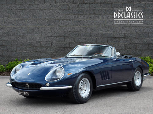1966  Ferrari 275 GTB NART Spyder (LHD) for sale in London SOLD (picture 1 of 6)