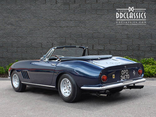 1966  Ferrari 275 GTB NART Spyder (LHD) for sale in London SOLD (picture 2 of 6)