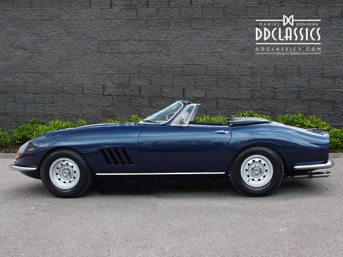 1966  Ferrari 275 GTB NART Spyder (LHD) for sale in London SOLD (picture 3 of 6)