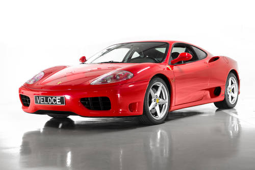 2000 Ferrari 360 Modena LHD low milliage  SOLD (picture 1 of 6)
