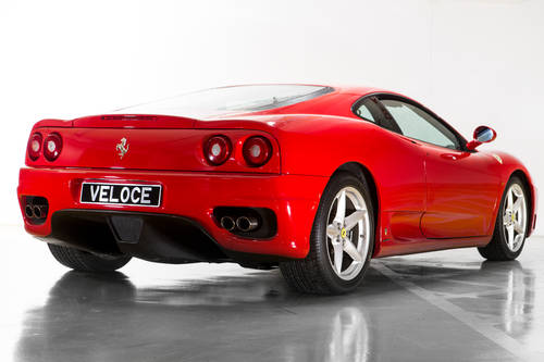 2000 Ferrari 360 Modena LHD low milliage  SOLD (picture 3 of 6)