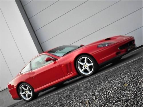 1998 Ferrari 550 5.5 Maranello 29k Miles FSH LHD Rosso Crema SOLD (picture 1 of 6)