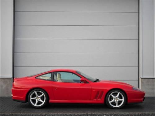 1998 Ferrari 550 5.5 Maranello 29k Miles FSH LHD Rosso Crema SOLD (picture 3 of 6)