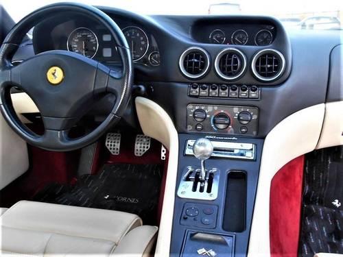 1998 Ferrari 550 5.5 Maranello 29k Miles FSH LHD Rosso Crema SOLD (picture 6 of 6)