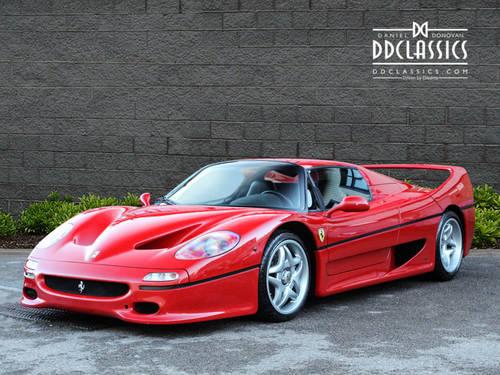 1997 Ferrari F50 (LHD) SOLD (picture 1 of 6)