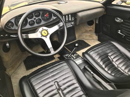 1972 Ferrari - Dino 246 GTS FIRST ITALIAN REGISTRATION SOLD (picture 4 of 6)