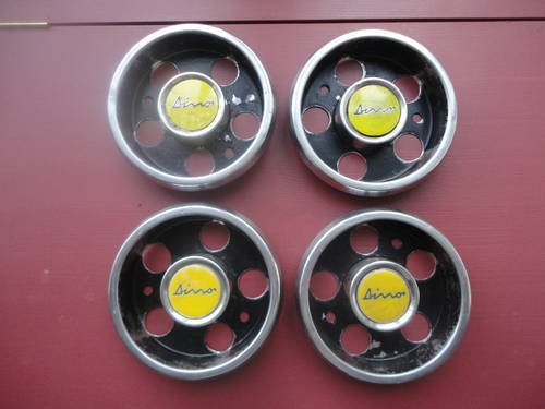 Ferrari Dino wheel trim (four available) For Sale (picture 1 of 1)