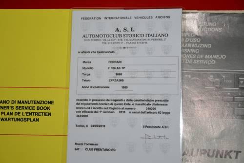 1989 Ferrari 208 GTS turbo intercooler  For Sale (picture 6 of 6)