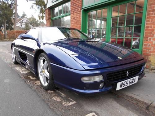 1995 Ferrari 355 GTB Coupe Manual  For Sale (picture 2 of 4)