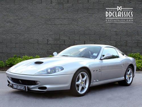 1997 Ferrari 550 Maranello (RHD) SOLD (picture 1 of 6)